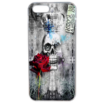 Coque Rigide Tête De Mort Queen Apple Iphone 5 - 5s