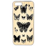 Coque Rigide Papillon Vintage Apple Iphone 5 - 5s