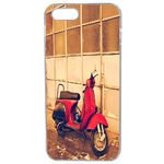 Coque Rigide Vespa Vintage Apple Iphone 5 - 5s