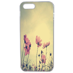 Coque Rigide Fleur Vintage Pour Apple Iphone Se