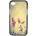 Coque Rigide Fleur Vintage Pour Apple Iphone 4 - 4s