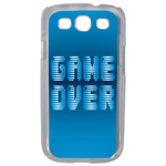 Coque Rigide Geek Game Over 1 Pour Samsung Galaxy S3