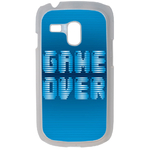 Coque Rigide Geek Game Over 1 Pour Samsung Galaxy S3 Mini