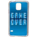 Coque Rigide Geek Game Over 1 Pour Samsung Galaxy S5