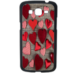 Coque Rigide Coeur Vintage Samsung Galaxy Grand 2