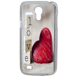 Coque Rigide Coeur Love Samsung Galaxy S4 Mini