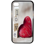 Coque Rigide Pour Apple Iphone 4 - 4s Motif Coeur 2 Amour