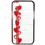 Coque Rigide Coeur Pour Apple Iphone 4 - 4s