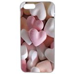 Coque Rigide Coeur Bonbon Pour Apple Iphone Se