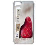 Coque Rigide Pour Apple Iphone 5c Motif Coeur 2 Amour