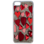 Coque Rigide Coeur Vintage Apple Iphone 5c