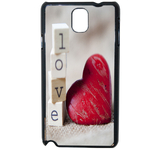Coque Rigide Coeur Love Samsung Galaxy Note 3