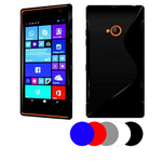 Coque Gel Vague S Pour Nokia Lumia 735