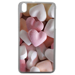 Coque Rigide Coeur Bonbon Pour Htc Desire 816