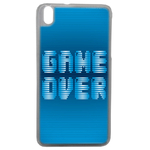Coque Rigide Geek Game Over 1 Pour Htc Desire 816