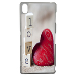 Coque Rigide Coeur Love Sony Xperia Z3