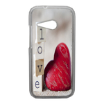 Coque Rigide Coeur Love Htc One Mini 2