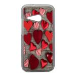 Coque Rigide Coeur Vintage Htc One Mini 2