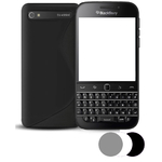 Etui Housse Coque Gel Vague S Pour Blackberry Classic