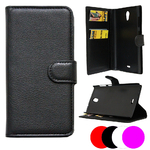 Etui Housse Coque Portefeuille Pour Wiko Robby + Film