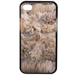 Coque Rigide Effet Poils D'animaux Pour Apple Iphone 4 - 4s
