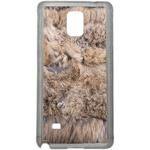 Coque Rigide Effet Poils D'animaux Pour Samsung Galaxy Note 4