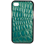 Coque Rigide Pour Apple Iphone 4 - 4s Motif Crocodile Vert