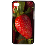 Coque Rigide Fraise Pour Apple Iphone 4 - 4s