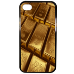 Coque Rigide Pour Apple Iphone 4 - 4s Motif Gold Lingot D'or