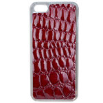 Coque Rigide Pour Apple Iphone 5c Motif Crocodile Rouge