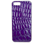 Coque Rigide Pour Apple Iphone Se Motif Crocodile Violet
