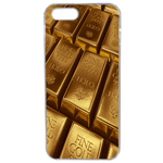 Coque Rigide Pour Apple Iphone 5 - 5s Motif Gold Lingot D'or