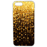 Coque Rigide Pour Apple Iphone Se Motif Pluie D'or Gold