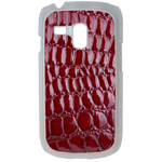Coque Rigide Pour Samsung Galaxy S3 Mini Motif Crocodile Rouge