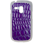Coque Rigide Pour Samsung Galaxy S3 Mini Motif Crocodile Violet