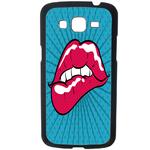 Coque Rigide Pour Samsung Galaxy Grand 2 Motif Bouche Effet Pop Art