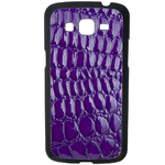 Coque Rigide Pour Samsung Galaxy Grand 2 Motif Crocodile Violet