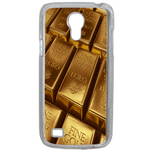 Coque Rigide Pour Samsung Galaxy S4 Mini Motif Gold Lingot D'or