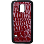 Coque Rigide Pour Samsung Galaxy S5 Mini Motif Crocodile Rouge