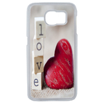 Coque Rigide Coeur Love Samsung Galaxy S6