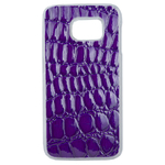 Coque Rigide Pour Samsung Galaxy Note 8 Motif Crocodile Violet