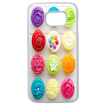 Coque Rigide Cupcakes Samsung Galaxy S6 Edge