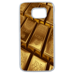 Coque Rigide Pour Samsung Galaxy S6 Edge Plus Motif Gold Lingot D'or