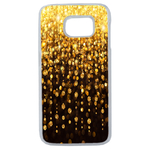 Coque Rigide Pour Samsung Galaxy Note 8 Motif Pluie D'or Gold