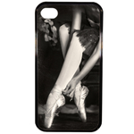 Coque Rigide Pour Apple Iphone 4 - 4s Motif Danseuse Ballerine
