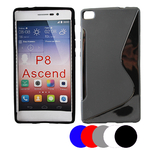 Coque Gel Vague S Pour Huawei Ascend P8