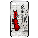 Coque Rigide Ange Ou Demon Pour Apple Iphone 4 - 4s