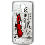 Coque Rigide Ange Ou Demon Pour Samsung Galaxy S4 Mini