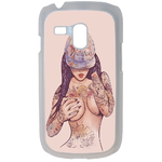 Coque Rigide Girl Tatoo Pour Samsung Galaxy S3 Mini
