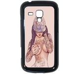 Coque Rigide Girl Tatoo Pour Samsung Galaxy Trend